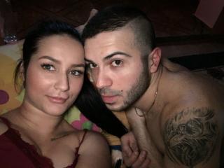 FirstFantasy - Webcam live porn with a brunet Couple